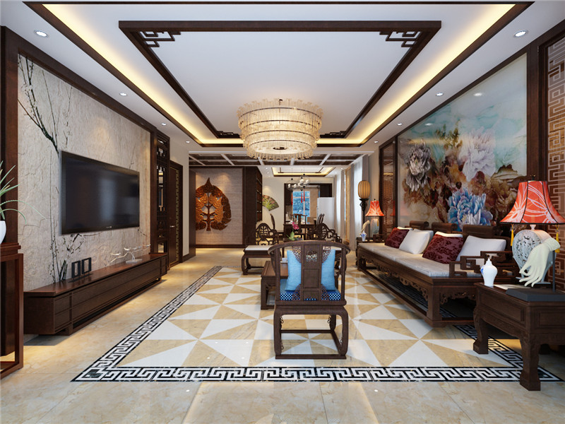 中式设计让你的房间充满古典韵味