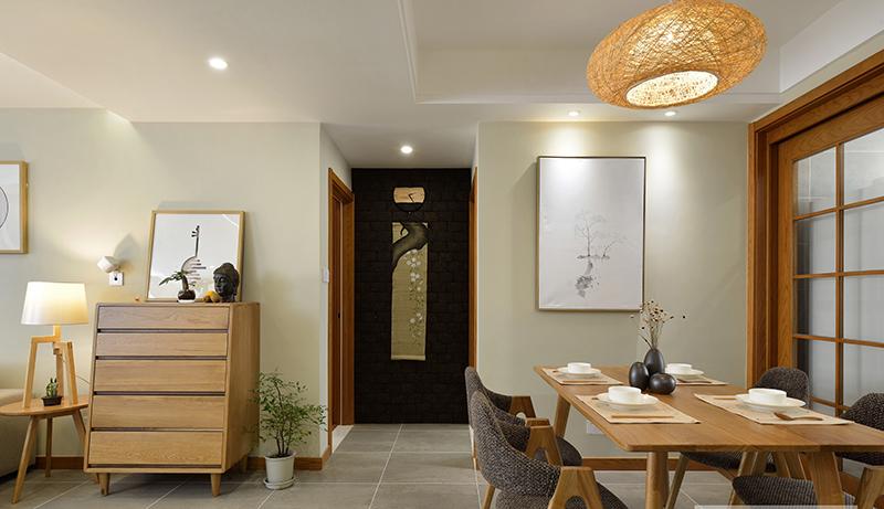 铂宫时代两居室日式风格装修
