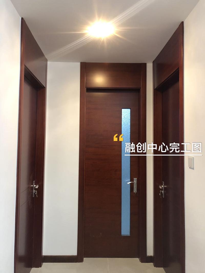 石家庄融创中心新中式风格装修实景样板房