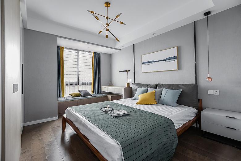 新合国际115平米-卧室装修效果图